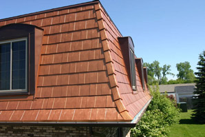 Oxford Shingle metal roof